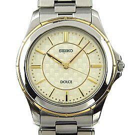 Seiko Dolce 8J41-0AF0 37mm Mens Watch
