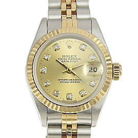 Rolex Datejust 69173G 26mm Womens Watch