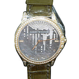 Harry Winston Midnight MIDAHM36RR001 36mm Womens Watch