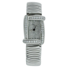 Henry Dunay WB 7118AB 18K White Gold 28mm Womens Watch