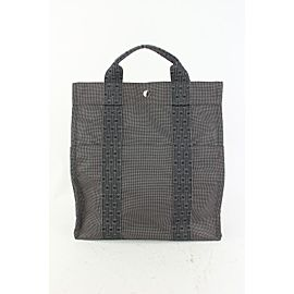 Hermes Grey x Navy Herline Sac a Dos Backpack 79her630