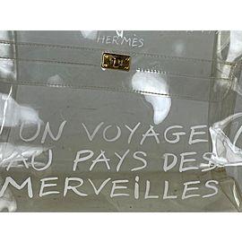 Hermès Kelly L Souvenir Translucent L'exposition 1997 23herm62 Clear Vinyl Tote