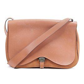 Hermès Messenger Colorado Gm Flap Large 21hk0113 Orange Leather Cross Body Bag