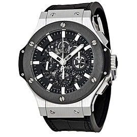 Hublot 311.SM.1170.GR Big Bang Aero Bang Stainless Steel Black Dial 44mm Mens Watch
