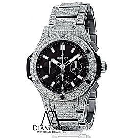 Hublot Big Bang Custom Diamond Watch Black Dial 301.SX.1170.RX