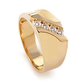 I.B. Goodman 14K Yellow Gold Diamond Ring