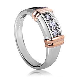 I.B. Goodman 14K Multi-Tone Gold Diamond Band Ring
