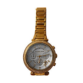 Michael Kors Parker MK5354 Gold-Tone Stainless Steel 39mm Watch