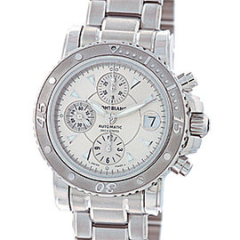 Mont Blanc Sport Chronograph 36334 Stainless Steel Automatic 41.5mm Mens Watch