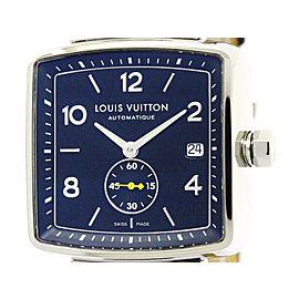 Louis Vuitton Speedy Q263G Stainless Steel Automatic 38mm Mens Watch