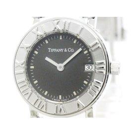 Tiffany & Co. Atlas Stainless Steel Stainless Steel Quartz 25mm Womens Watch