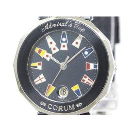Corum Admirals Cup 39.610.30 Stainless Steel Quartz 27mm Womens Watch