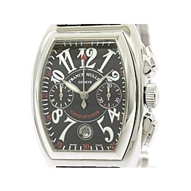 Franck Muller Conquistador 8001CC Stainless Steel Automatic 35mm Mens Watch