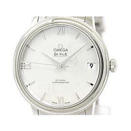 Omega De Ville Prestige 424.10.33.20.05.001 Stainless Steel Automatic 33mm Womens Watch