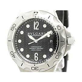 Bulgari Diagono DP42SSD Stainless Steel Automatic 42mm Mens Watch