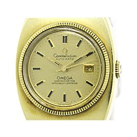 Omega Constellation 568.015 Gold Plated Automatic 28mm Womens Watch