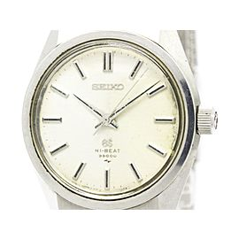 Seiko Grand Seiko 4520-8000 Stainless Steel Hand-Winding Vintage 36mm Mens Watch