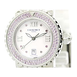 Chaumet Class One Stainless Steel Quartz 33mm Womens Watch
