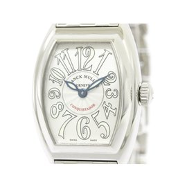 Franck Muller Conquistador 8005LQZ Stainless Steel Quartz 28mm Womens Watch