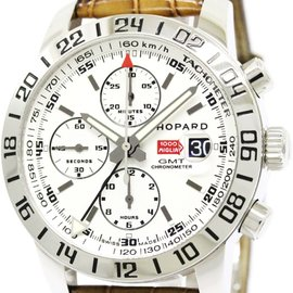 Chopard Mille Miglia 8992 Stainless Steel / Leather Automatic 42mm Mens Watch