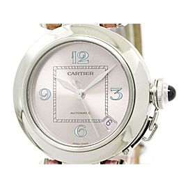 Cartier Pasha C W3108199 Stainless Steel Automatic 35mm Unisex Watch