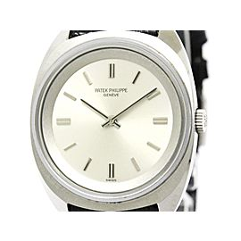 Patek Philippe Calatrava Stainless Steel Hand-Winding 33mm Mens Watch