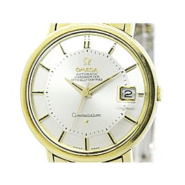 Omega Constellation 168.004 Gold Plated Stainless Steel Automatic 35mm Mens Watch
