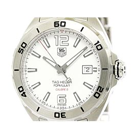 Tag Heuer Formula 1 WAZ2114 Stainless Steel 41mm Mens Watch