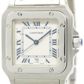 Cartier Santos Galbee W20060D6 Stainless Steel Quartz 29mm Mens Watch