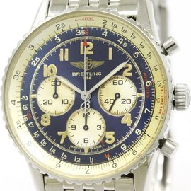 Breitling Navitimer A30022 Stainless Steel Automatic 37mm Mens Watch