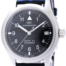 IWC IW324101 Stainless Steel & Rubber Automatic 36mm Mens Watch