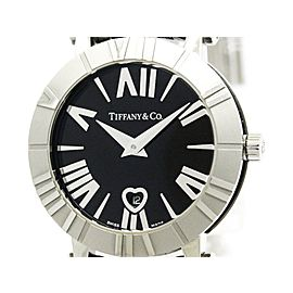 Tiffany & Co. Atlas Z1300.11.11A10A00A Quartz Ceramic & Stainless Steel 30mm Womens Dress Watch