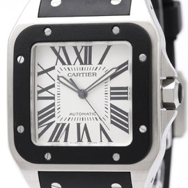 Cartier Santos 100 W20121U2 Automatic Stainless Steel 38mm Mens Sports Watch