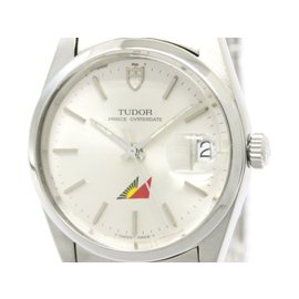 Tudor Prince Oyster Date 74000N Stainless Steel Automatic 34mm Mens Watch