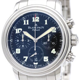 Blancpain Leman 2185F-1130-71 Stainless Steel Automatic 38mm Mens Watch