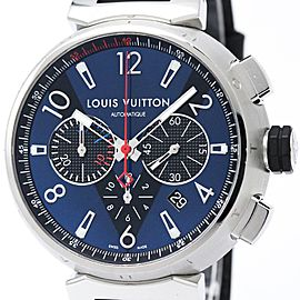 Louis Vuitton Tambour Q102V Stainless Steel Automatic 44mm Mens Watch