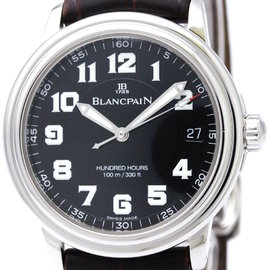 Blancpain Leman 2100-1130 Stainless Steel Automatic 38mm Mens Watch