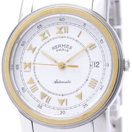 Hermes Carrick Gold Plated / Stainless Steel Automatic 36mm Mens Watch