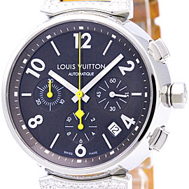 Louis Vuitton Tambour Q112G Stainless Steel 41mm Mens Watch