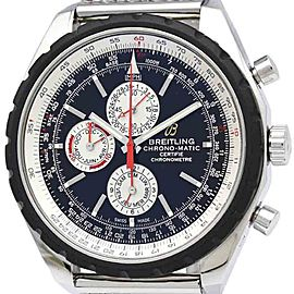 Breitling Chrono-Matic Automatic Stainless Steel Men's Sports Watch A19360