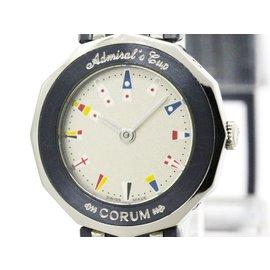 Corum Admirals Cup 24.810.30 Stainless Steel Quartz 22mm Womens Watch