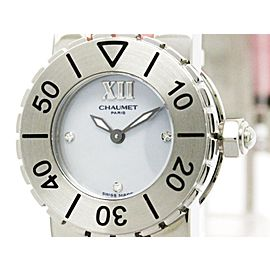 Chaumet Class 1 Stainless Steel Quartz 24mm Womens Watch