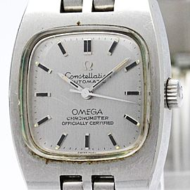 Omega Constellation Stainless Steel Automatic 25mm Womens Watch