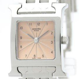 Hermes Heure H HH1.710 Quartz Stainless Steel 21mm Womens Dress Watch