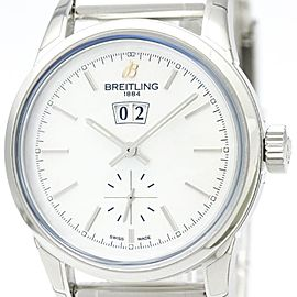 Breitling Transocean A16310 Stainless Steel Automatic 38mm Mens Sports Watch