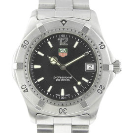 Tag Heuer Professional WK1110-0 Stainless Steel Quartz 38mm Mens Watch