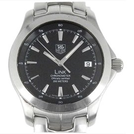 Tag Heuer Link WJF5110 Stainless Steel Automatic 39mm Mens Watch