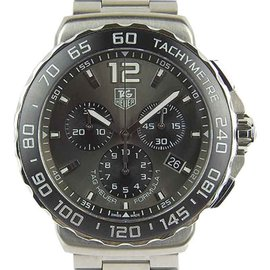 Tag Heuer Formula 1 CAU1115 Stainless Steel Gray Dial Quartz 40mm Mens Watch