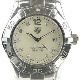 Tag Heuer Aquaracer WAF1415 Stainless Steel Quartz 27mm Womens Watch