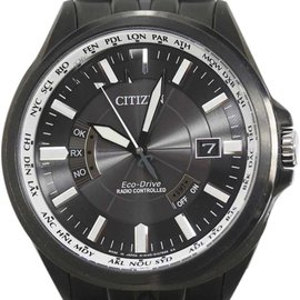 Citizen World Time CB0014-52E PVD Stainless Steel 42mm Mens Watch